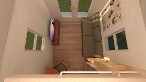 tiny home living room